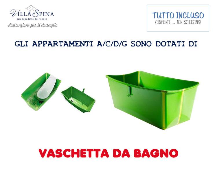 Appartamenti estivi san benedetto del tronto nella riviera - Vaschetta bagno bimbo ...